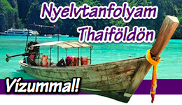 Nyelvtanfolyam Thaifldn - vzummal!